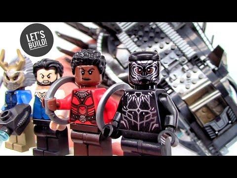 LEGO Black Panther: Royal Talon Fighter Attack 76100 - Let's Build!