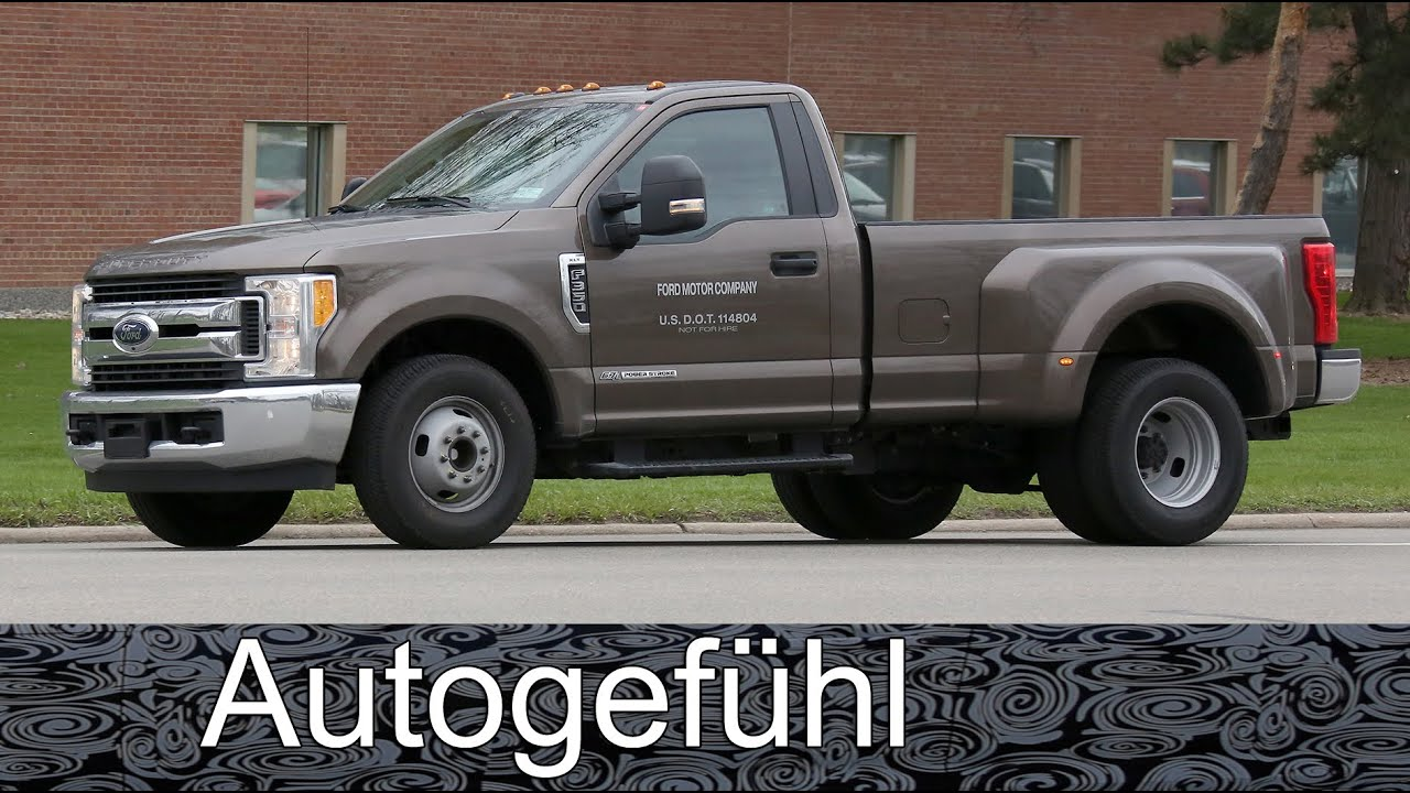 2017 new ford f 350 xlt single cab dually spotted autogef hl youtube