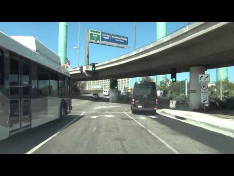 Lets Drive Through LAX *Los Angeles International Airport*
