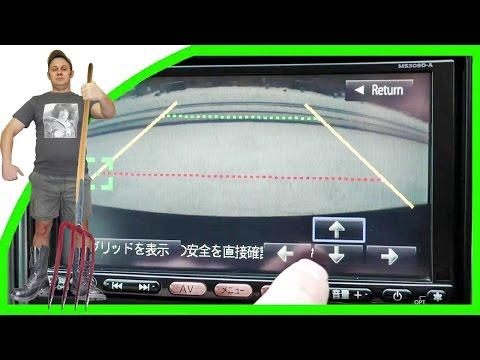 Как отрегулировать камеру заднего вида на автомобиль