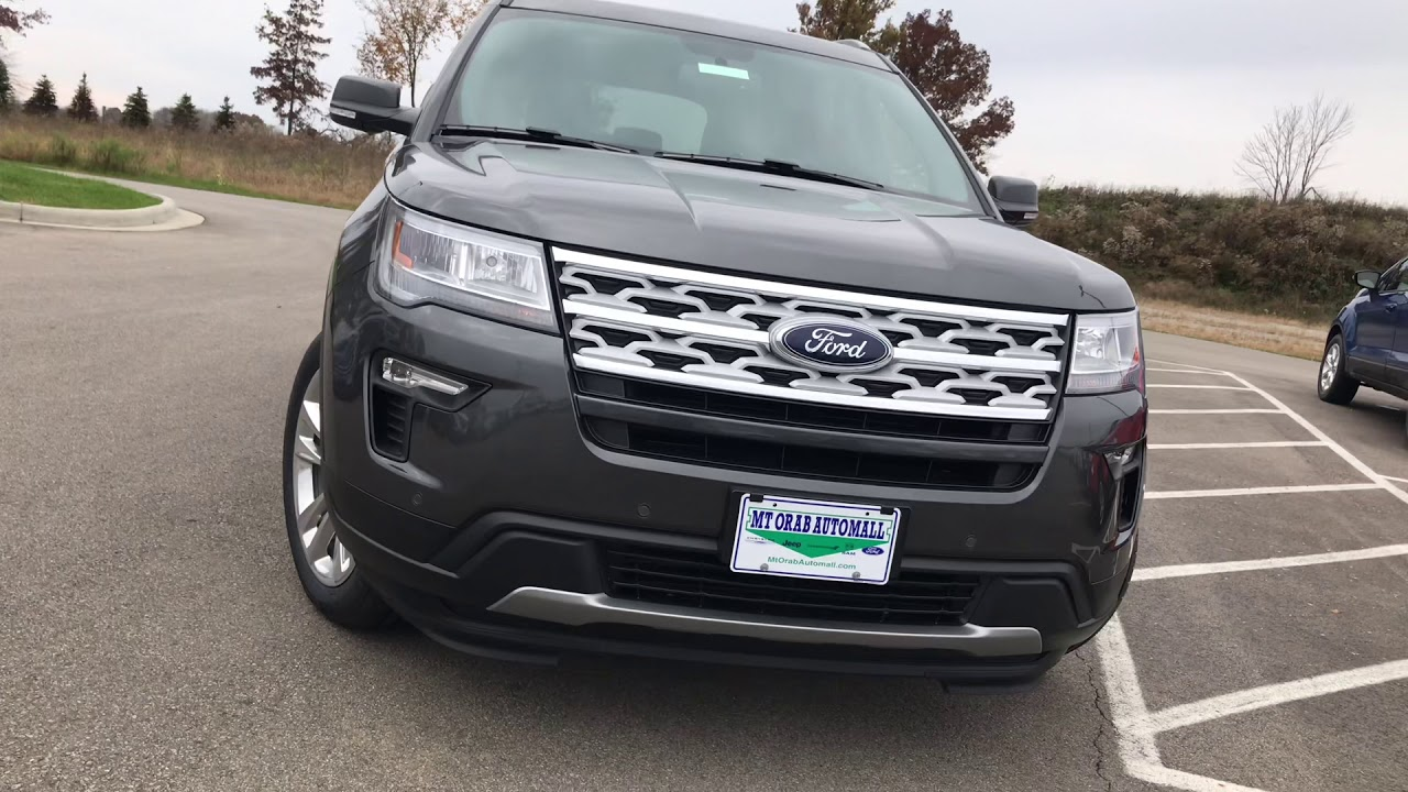 Mt Orab Auto Mall >> All New 2019 Ford Explorer Youtube