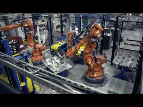 Schlüsselfertige Anlage beschleunigt Arbeitsprozesse: ABB-Roboter bei Bharat Forge