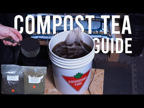 ORGANIC COMPOST TEA GUIDE: BOOST PLANTS HEALTH & FIGHT DISEASE AND PEST