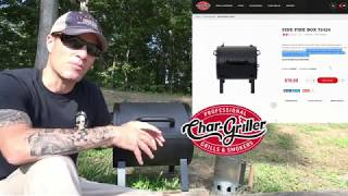 Char Griller - My initial first go at BBQ
