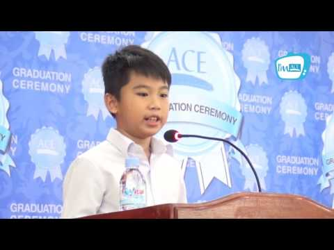 Speech by Kuoch Someth, ACE Children Program Student