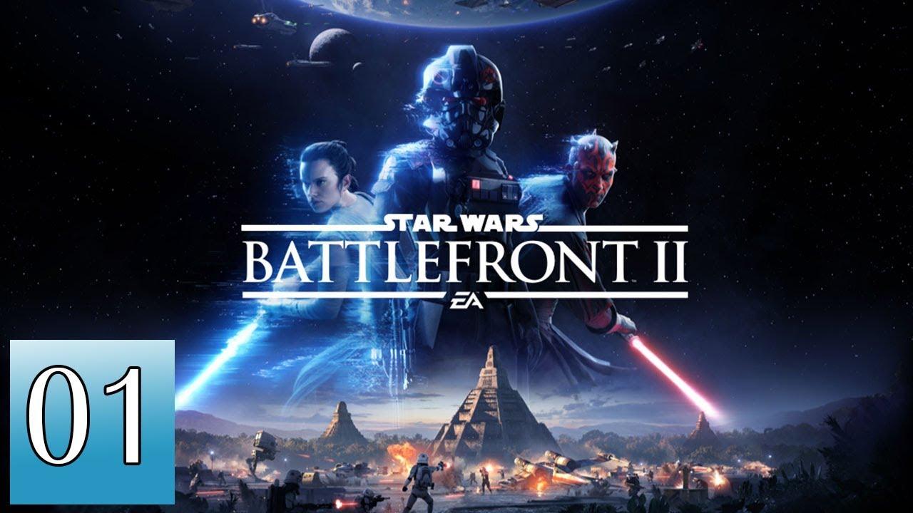 CHIẾN TRANH GIỮA CÁC VÌ SAO - STAR WARS BATTLEFRONT 2 - GAME ĐẸP LẮM !!!!