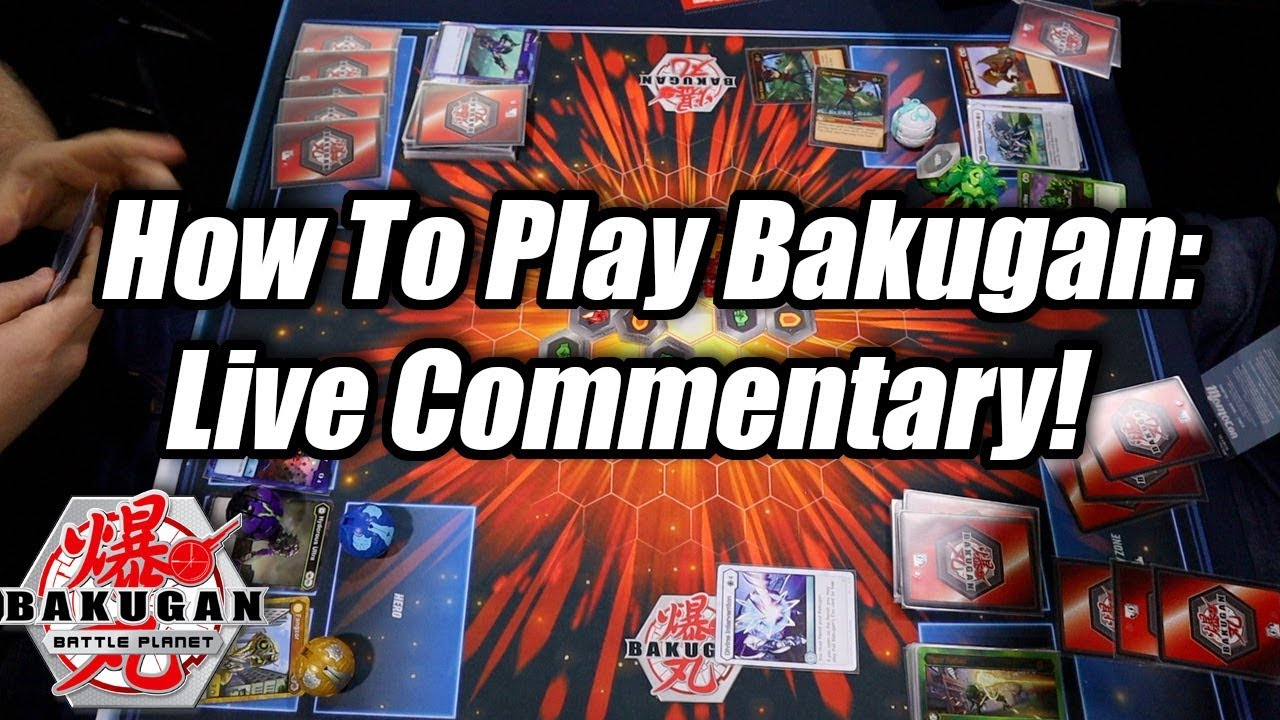 How To Play Bakugan TCG: Live Gameplay Commentary! (Step-by-Step)
