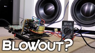 ATTEMPTING TO BLOW SUBWOOFER AMPLIFIER!