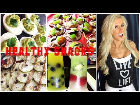 HEALTHY SNACKS: NACHOS, PIZZA, ICE CREAM, POPSICLES, DEVILED EGGS, & MORE!