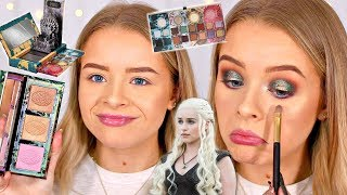 TESTING URBAN DECAY GAME OF THRONES COLLECTION!! WORTH THE HYPE? 🤔| sophdoesnails