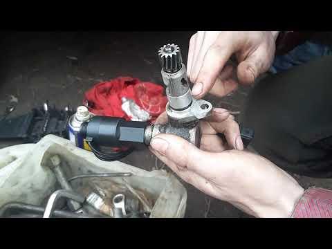 Замена датчика и привода спидометра или ошибка двигателя (часть 2)