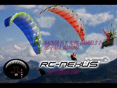 RC-Paragliding: Hacker Fly Alps Damüls 2 RC-Para-Soaring Elsenkopf 1940m Tag 3 10 Sep 2016 ohne Ton