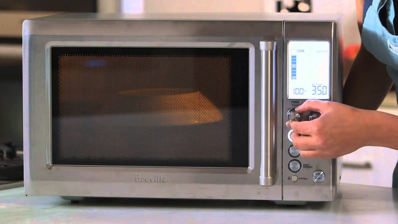 how to use the breville quick touch microwave williams sonoma
