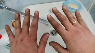 Як мити руки після ремонту. РІДКІ РУКАВИЧКИ. Захист рук від бруду, фарби, масла