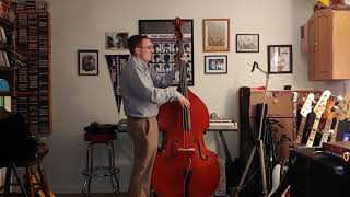 Perry Como - Papa Loves Mambo (Double Bass Cover)