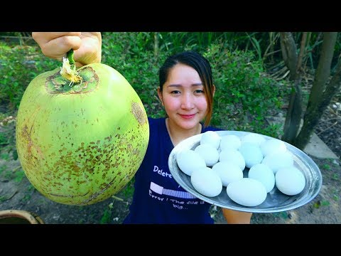 Yummy Balut Cooking Coconut Juice – Balut Recipe – Cooking With Sros