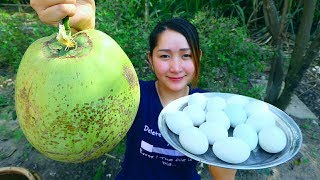 Yummy Balut Cooking Coconut Juice - Balut Recipe - Cooking With Sros