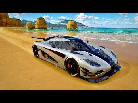 Forza Horizon 3 - Racha Em Golias De Koenigsegg One:1 De 1400CV