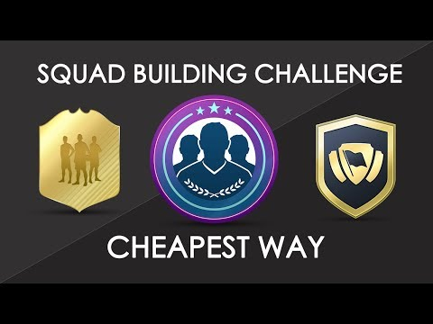 Squad Building Challenge Cheapest Way - Find SBC Players for FIFA 18 Squad