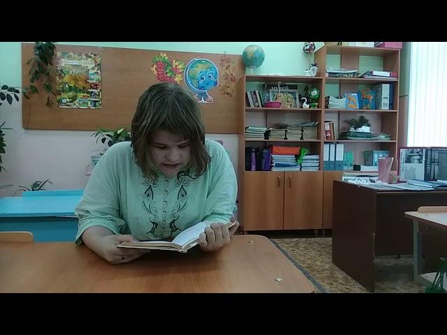 Изображение предпросмотра прочтения – АлисаВахрушева читает произведение «Стихотворение в прозе Воробей» И.С.Тургенева