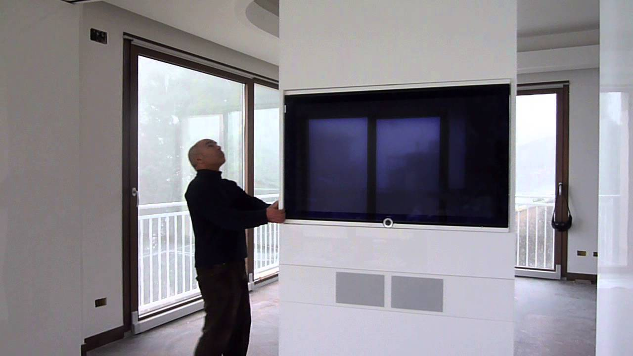 Realizzazione pareti traslanti con impianto audio video hi fi integrato youtube - Impianto hi fi per casa ...