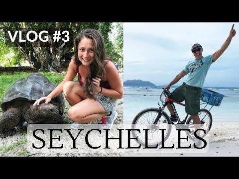 SEYCHELLES HONEYMOON VLOG #3 | La Digue Island | Dilya London
