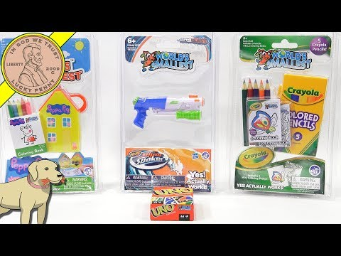Worlds Smallest Toys - Super Soaker - Peppa Pig & Crayola