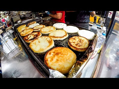 The Arepa from Venezuela. London Street Food at Camden Town