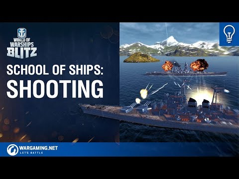 World of Warships Blitz: School Of Ships Ep 1 Shooting