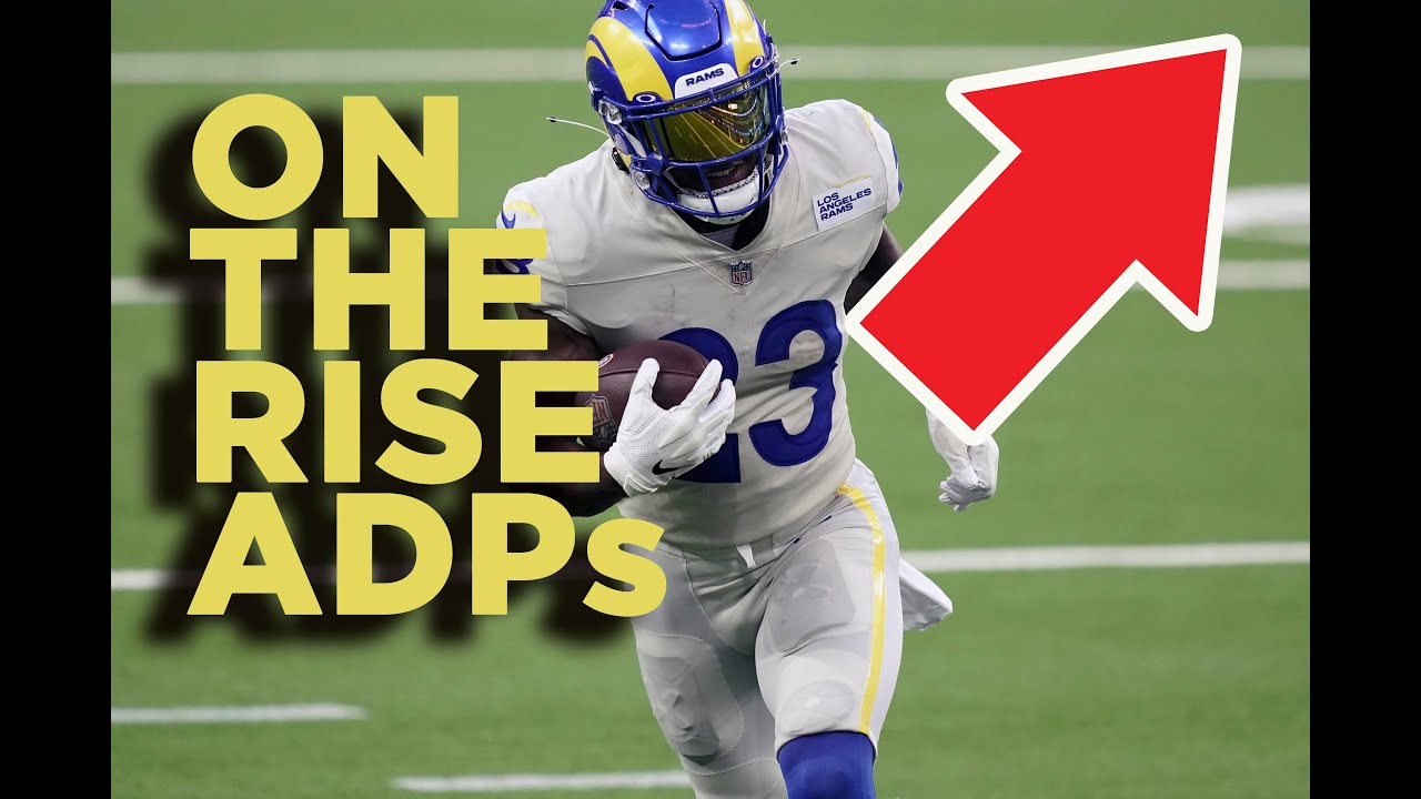 Fantasy Football 2020 Stefon Diggs Ronald Jones And More Trending Adps Youtube