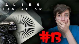 NOWY, GROŹNY PRZECIWNIK - WENTYLACJA! | Alien: Isolation #13