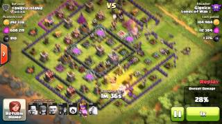 Clash Of Clans - My Best Loot Raid EVER - Over 1.1 Million Resources