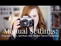 How to Use Manual Settings on Cameras | ISO, Shutter Speed and Aperture Explained | Alice Red