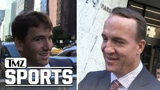 Peyton Manning Is Proud of Eli and Impressed By Dak Prescott | TMZ Sports