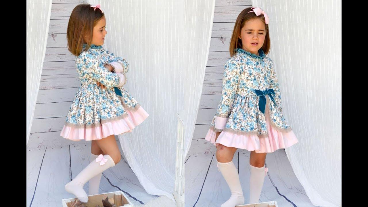 Realiza tu misma un Vestido Romántico de niña. Patrones infantiles ...