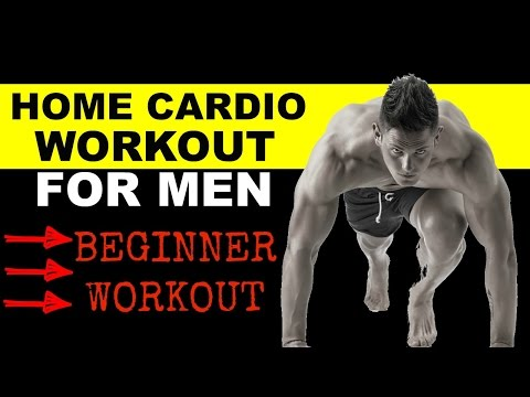 Men Cardio Workout For Beginners Video (Home)
