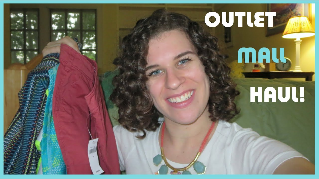Clothing Haul: Outlet Malls, Ann Taylor, GAP, J Crew, & Target! :D