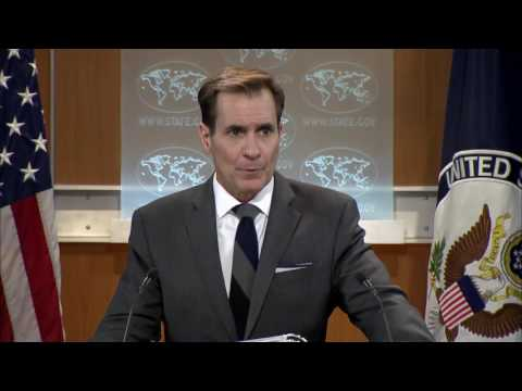 Daily Press Briefing - December 15, 2016