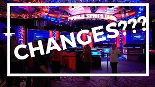 Ch-Ch-Ch-Changes at the 2017 World Series of Poker