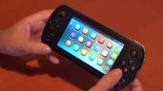 JXD S5800 - телефон и игровая консоль с 3G, GPS, 2 SIM, OTG(Пятидюймовый игровой телефон. Экран 5 дюймов с разрешением 960x540. Четырехъядерный процессор MTK6582. 1 ГБ операти..., 2014-05-29T07:12:40.000Z)