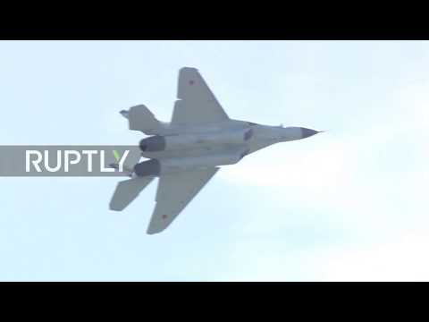 Russia: New MiG-35 showcased at MAKS-2017 air show