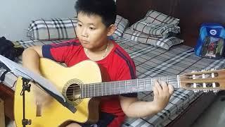 Con đường đến trường - Guitar - Hải Bình
