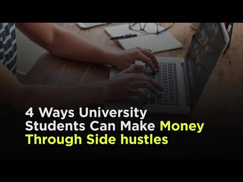 4 Ways for College Students to Make Money on the Side