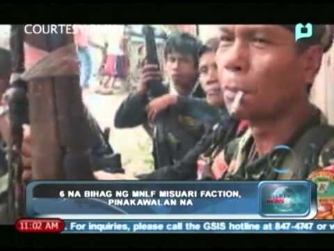 PTV Newsbreak: 6 na bihag ng MNLF faction, pinakawalan na