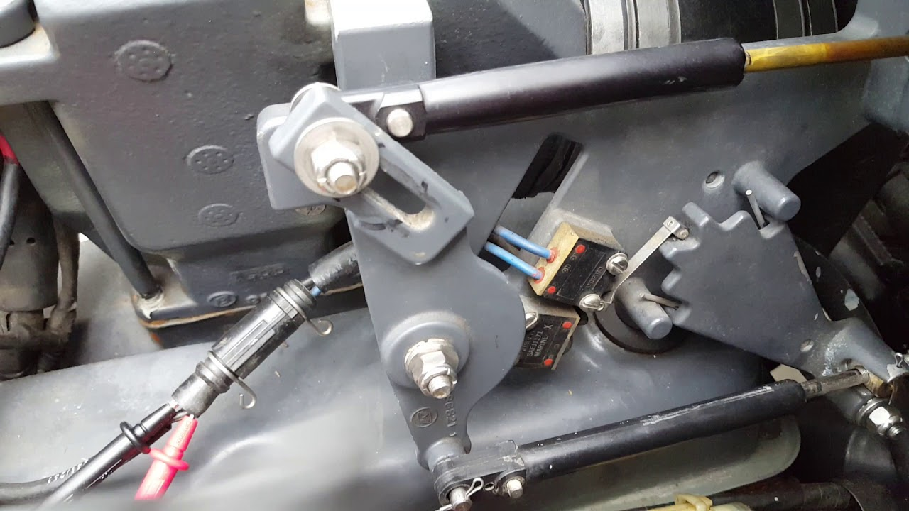 small resolution of engine bracket esa troubleshooting part 1 omc cobra volvo penta sx