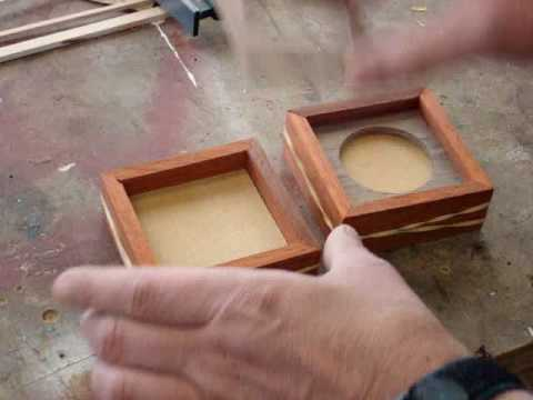 Scrap Wood Project Build A Picture Frame Box Pt 2 Youtube