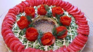 Салат БОМБА !  'Красная шапочка'