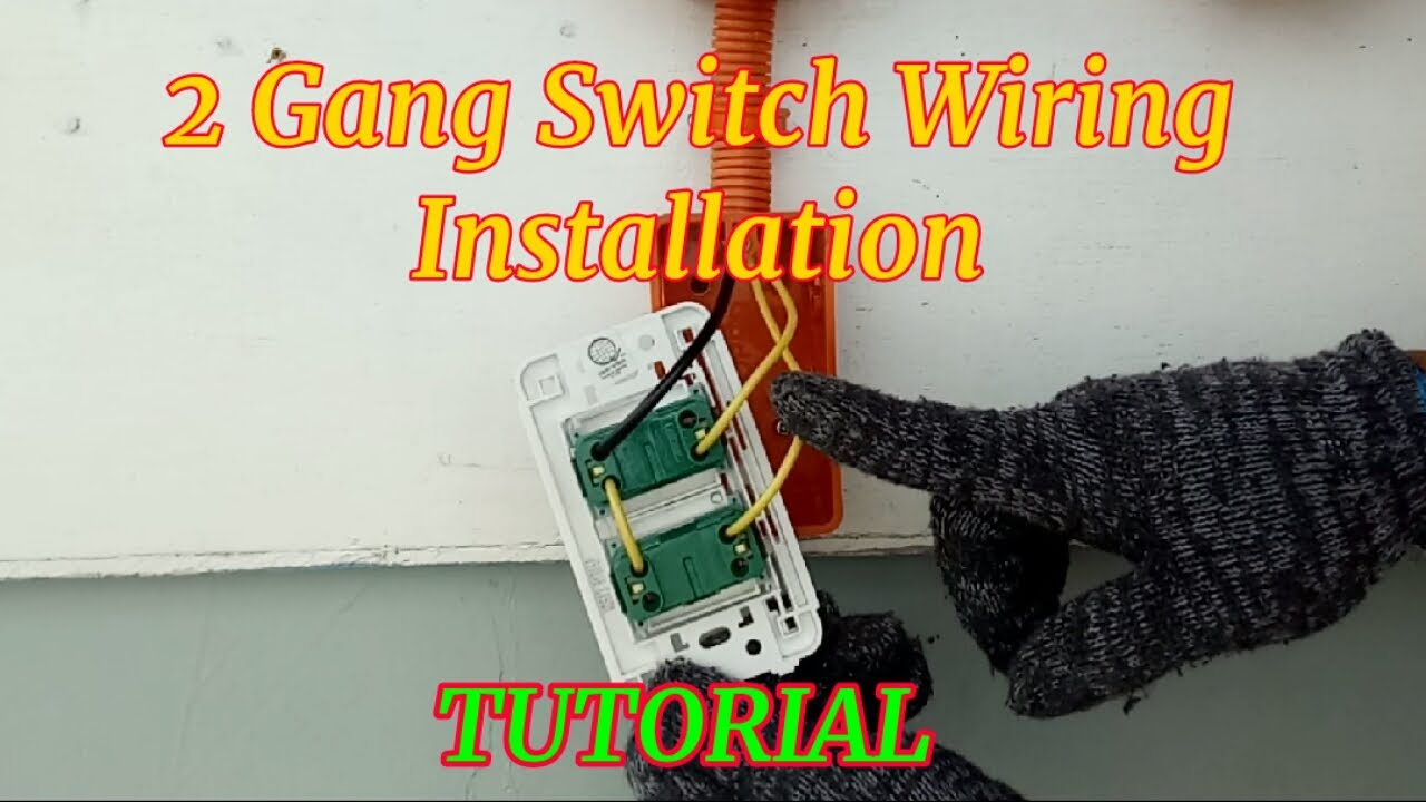 40 Gang Switch    Wiring Installation of 40Gang Switch tagalog    Pano mag  Wiring ng 40 Gang Switch