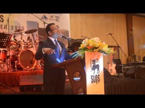 SLQS Qatar G2G special guest lecture by Prof. Chanaka Jayawardena