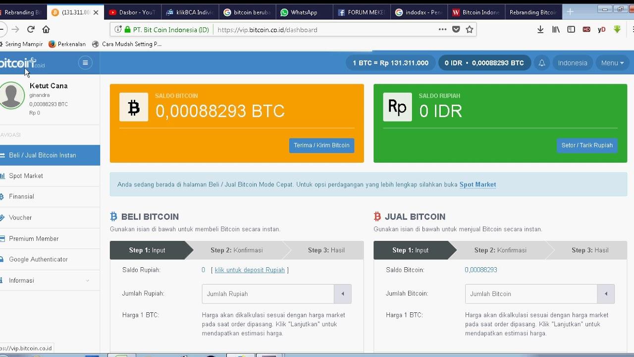 cara indėlis vip bitcoin